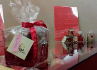 Vasetti regalo decorati e Sale nero
